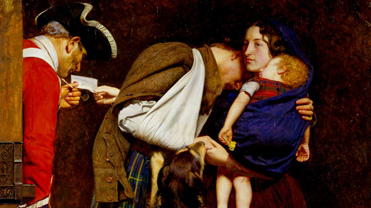 The Order of Release by Sir John Everett Millais