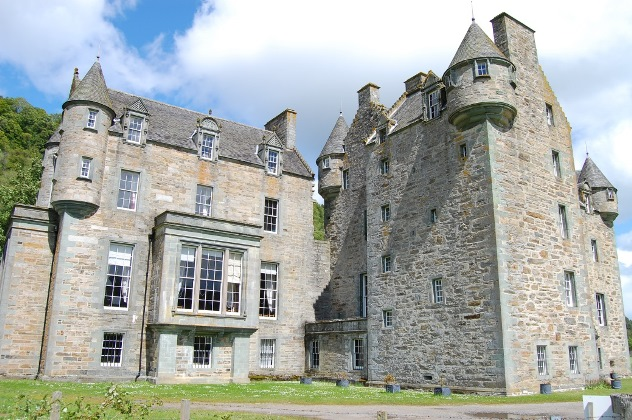 Castle Menzies in 2014. Image courtesy of Maureen McIntyre