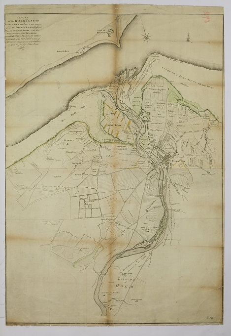 A Plan of the River Ness, 1774