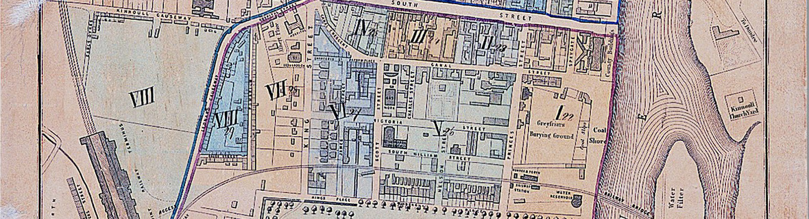 Detail from census plan of Perth