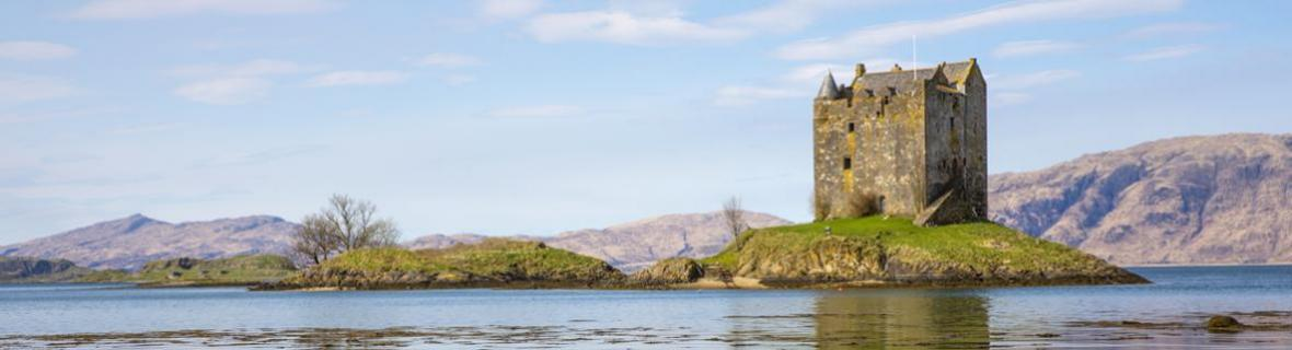 Photograph of Castle Stalker