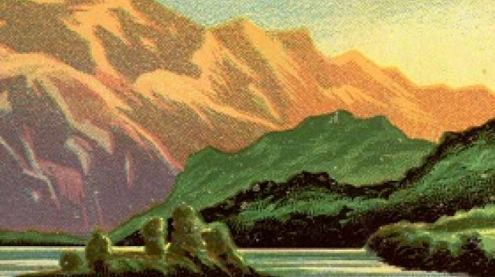 Detail of Scottish landscape