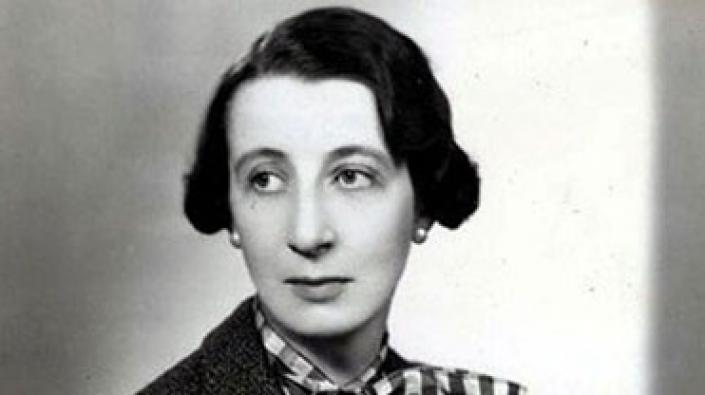 A photograph of Josephine Tey