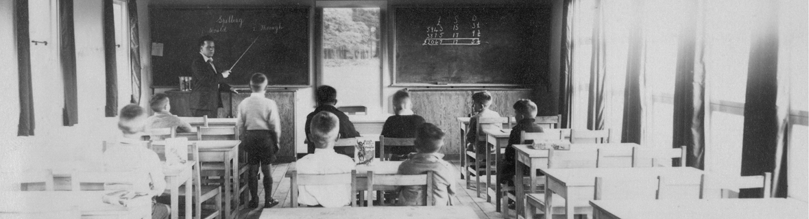photograph of classroom scene